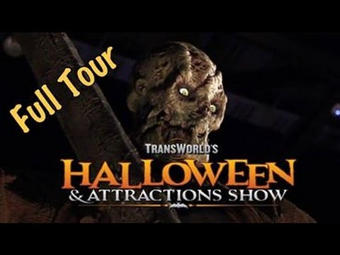 TransWorld Halloween Haunt Convention Full Tour & Review