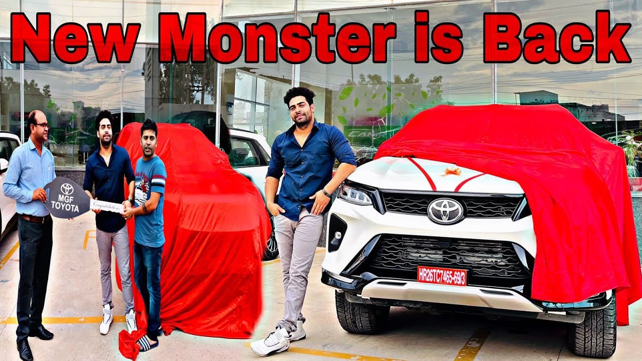 Download We Did it 😎   Taking Delivery Of My Toyota LEGENDER 👻    Ajju0008