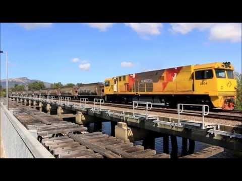 Australian Trains - Townsville Today, August 10th 2016
