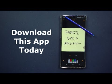 Must Have App For Samsung Galaxy Note 10 (Note 9 & Note 8)