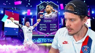 MEMPHIS THE MAD LAD?! 86 ROAD TO THE FINAL MEMPHIS DEPAY PLAYER REVIEW! FIFA 20 Ultimate Team
