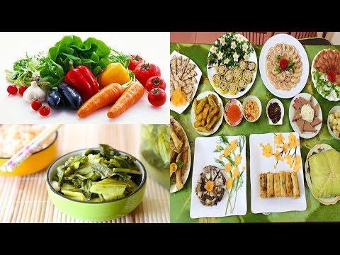 Lợi ích của các loại rau trong mâm cỗ Tết