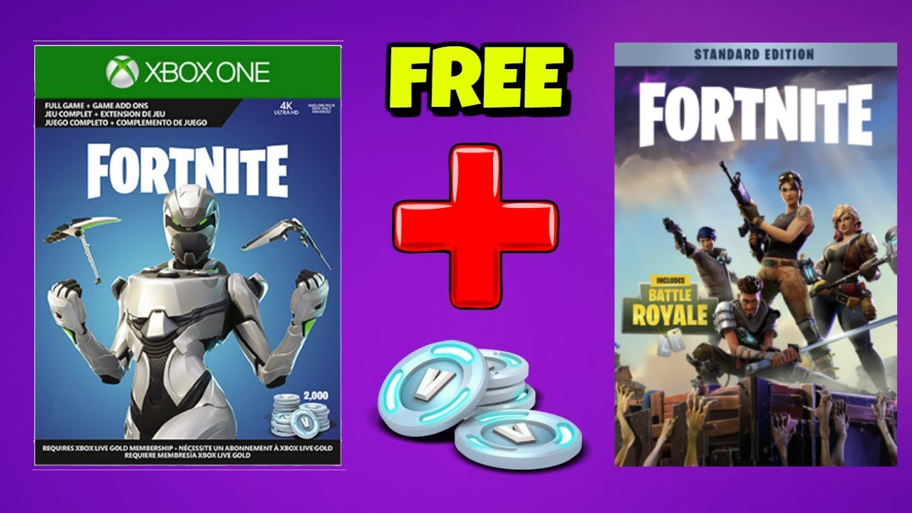 FREE SAVE THE WORLD or 2000 V-BUCKS with EON BUNDLE in ...