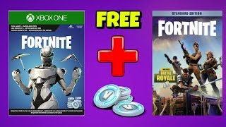 FREE SAVE THE WORLD or 2000 V-BUCKS with EON BUNDLE in Fortnite