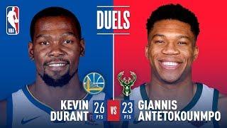 KD vs Giannis: Duel In Milwaukee