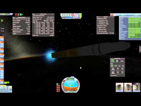 Kerbal Space Program KSP SSTU SLS RSS RO Launch!