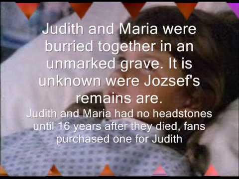 In Memory of Judith Barsi