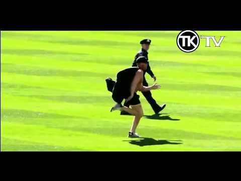 If It Were Not Filmed No One Would Believe It! #Crazy Cricket Fans #Pitch Invaders