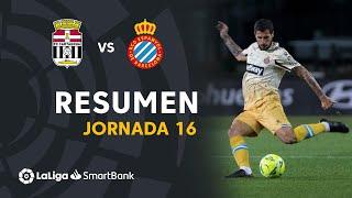 Resumen de FC Cartagena vs RCD Espanyol (1-3)
