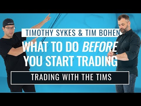 Here's What To Do Before You Start Trading