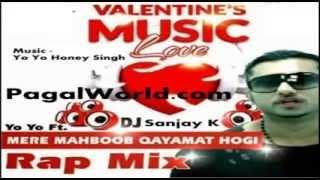 Mere Mehboob Qayamat Hogi   full song Yo Yo Honey Singh   2014  HD