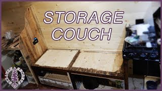 Finishing the Couch ~ Van Build E017
