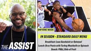 How Dwyane Wade&#39s Chef Created His NBA Diet  The Assist  GQ Sports