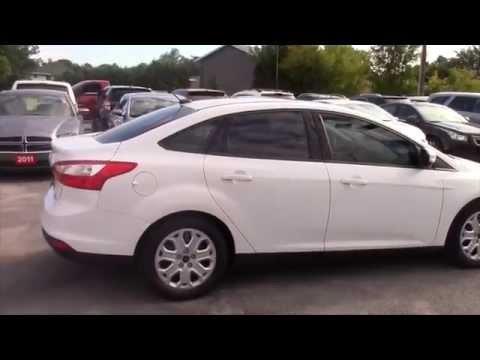 USED 2014 Ford Focus SE WHITE | KINGSTON ONTARIO