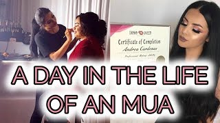 A DAY IN THE LIFE OF AN MUA l Drea Makeup