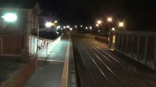 Looking around the vast yards at Echuca railway station. Early Saturday 03 May 2014