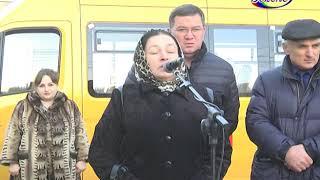 Для школьников Карабудахкентского района стало приятным подарком выделение новых микроавтобусов