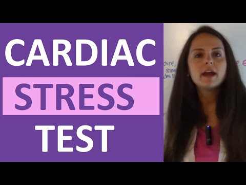 Cardiac Stress Test Heart Stress Test Types Echo Lexiscan