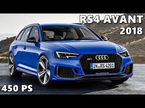 2018 Audi Rs4 Avant Official Launch Film Youtube