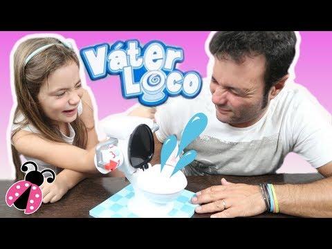 VATER LOCO 🚽 Toilet Trouble Game Challenge!  Juego de mesa