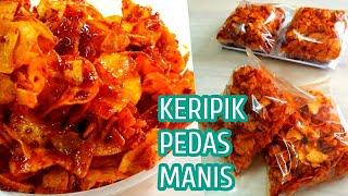 Download KERIPIK SINGKONG PEDAS MANIS