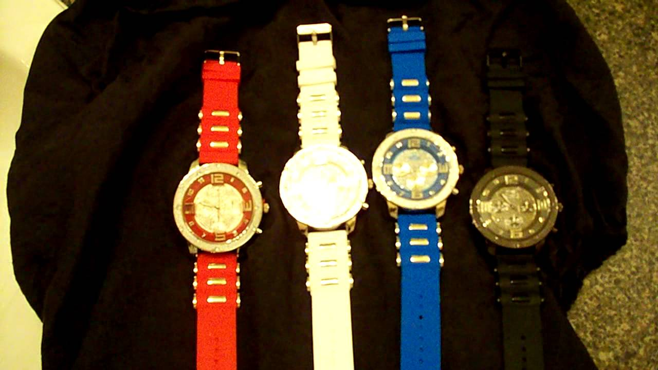 ICE KING WATCHES $75 (SUMMER JEWELRY SALE) - YouTube