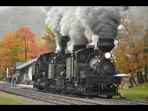 Cass Scenic Railroad Appalachian Fall Foliage - YouTube