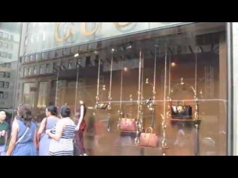 LUXURY SHOPPING IN NEW YORK