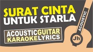 Virgoun Surat Cinta Untuk Starla Karaoke Acoustic
