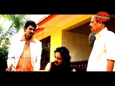 Krishnanum Radhayum 2011 Malayalam Movie | Santhosh Panditl | Action Scene