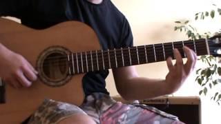Relaxing Acoustic Guitar Music - guitar lesson - TAB - Morning Sun