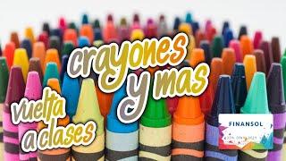 Tips de #solcitorecomienda para elegir crayones y más para la vuelta al cole
