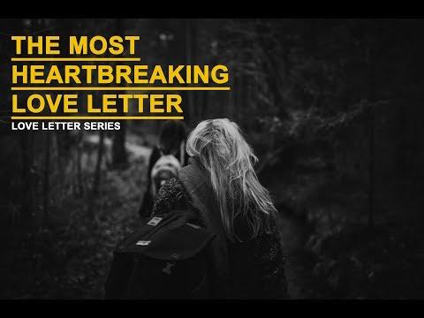 Most heartbreaking love letters