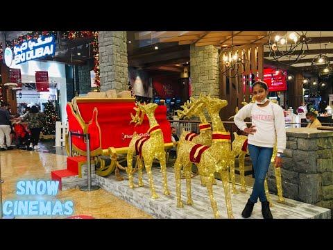 SNOW CINEMA || FIRST TIME IN UAE || MALL OF EMIRATES || SKI DUBAI || VOX CINEMAS
