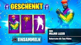 EXCLUSIVE Major Lazer Skin get 🔥 | Fortnite German
