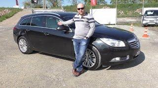 Пригнал себе Opel Insignia 2012, 2.0 CDTI A20DTH, обзор и отзыв владельца!