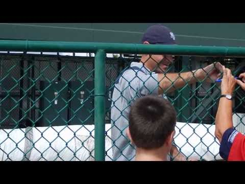 Nationals Chris Young Signing Autographs HD