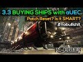 3.3 Buying Ships with aUEC? - Is a Patch Reset still a Smart Thing? #nobullshit #starcitizen