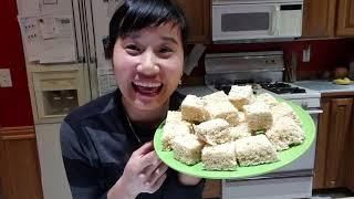 Làm bánh Rice Krispies treats, tâm sự bảo hiểm y tế ơ Mỹ Washington