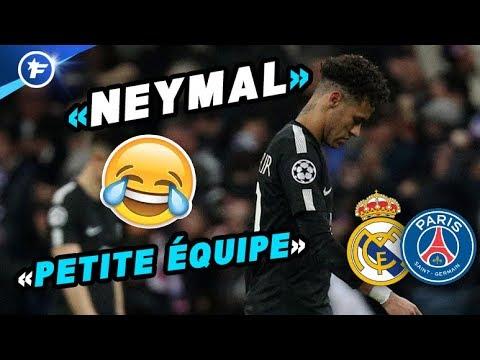 Neymar et le PSG moqués en Europe   Revue de presse