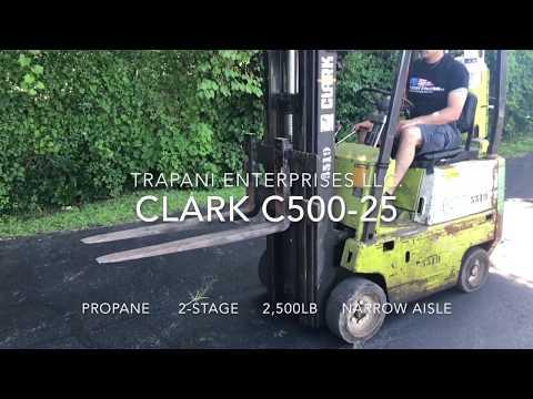 Clark C500 25 Forklift for sale by Trapani Enterprises