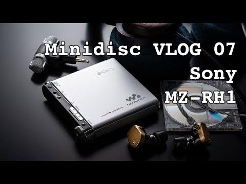 Minidisc VLOG - 07: Sony MZ-RH1 Review