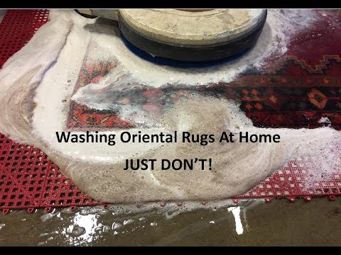 Washing Oriental Rugs In Your Home