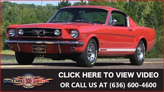 1966 Ford Mustang GT || SOLD