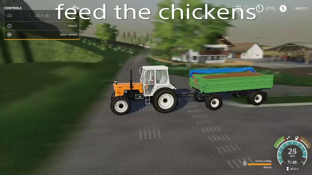 How To Feed Chickens Fs19 Quick And Simple Tutorial Youtube