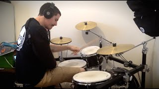 Learning to Drum One Handed: Progress Video 1 - Kye Smith