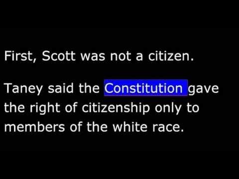 American History - Part 080 -  Buchanan - Dred Scott decision
