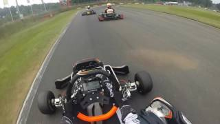First ride with my Rotax CRG DD2 @ karting Genk - Onboard Arnaud Beckers