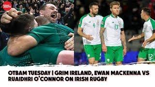 LIVE: O'Neill's nightmare year, Irish Rugby - Snobbery vs. realism, Pogba and Rashford out? | #OTBAM
