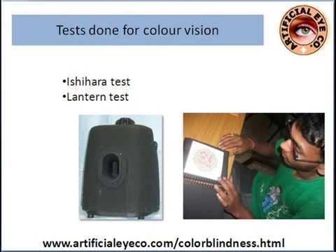 color Farnsworth lantern test